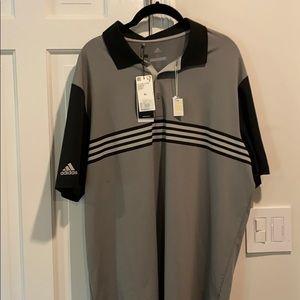 NWT - Adidas Whistling Straights XL golf shirt